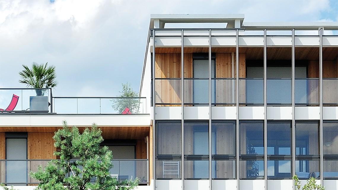 Architecte Tassin La Demi Lune les lauréales - atelier roche architectes
